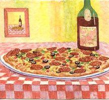 Pizza-wine