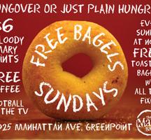 Free-bagel-sundays