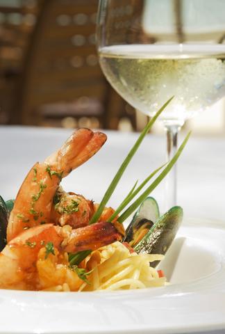 Seafood-wine