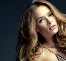 Hair-model-highlights