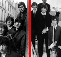 Beatles-rollingstones