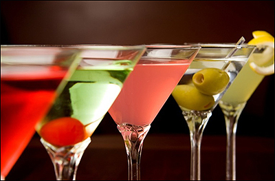 Cocktails-martinis