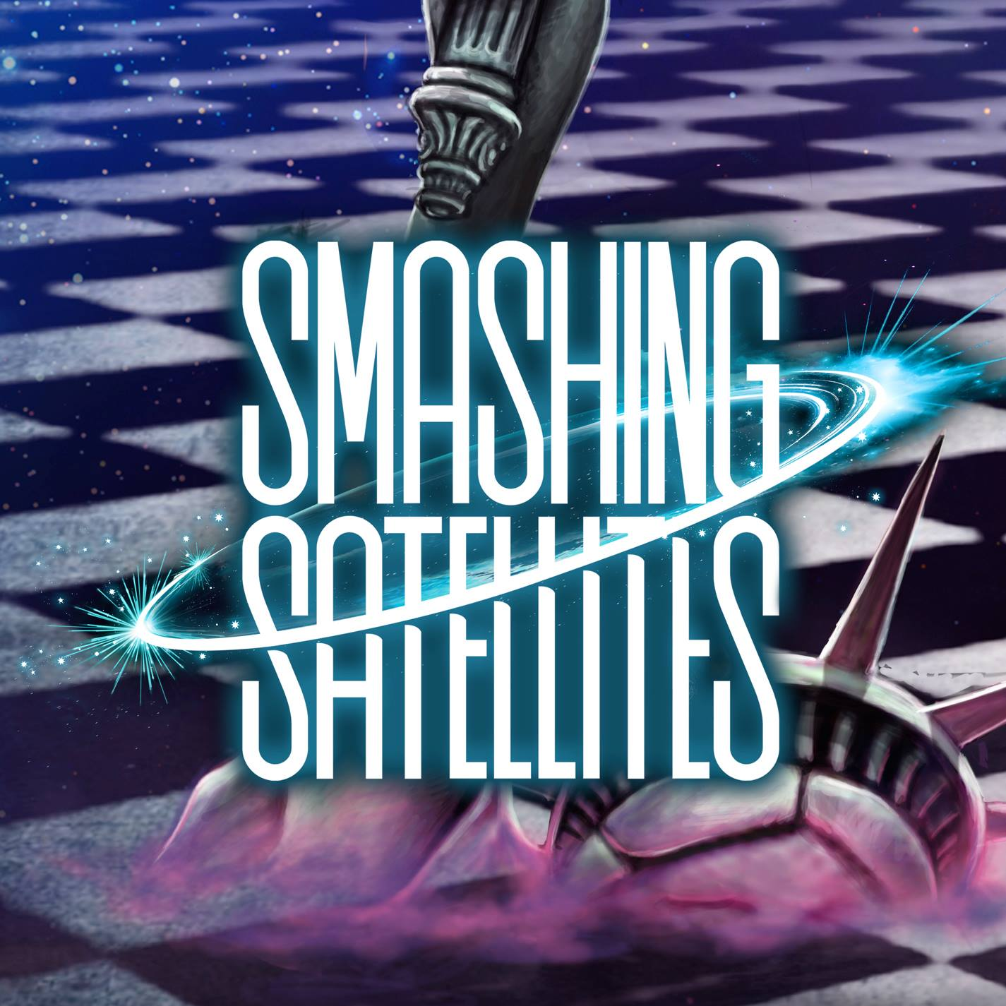 Smashing-satellites